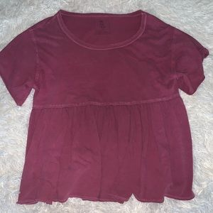 free people babydoll top